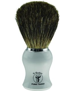 Shave Brush - White