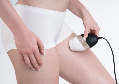 Bare IPL Long Term Hair Removal Device - White