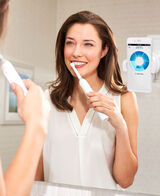 Genius 8000 Electric Toothbrush with 4 Replacement Brush Head Refills, Travel Case & 2 Handles