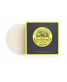 West Indian Lime Shave Soap Refill