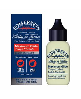 Tough Stubble English Shaving Oil 35mL