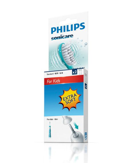 Sonicare For Kids 2 Pack Toothbrush Heads - Small