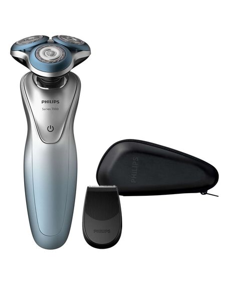 Series 7000 Wet & Dry Electric Shaver with SmartClick Trimmer Travel Case