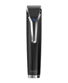 Waterproof Lithium-Ion Stainless Steel Grooming Kit - Black