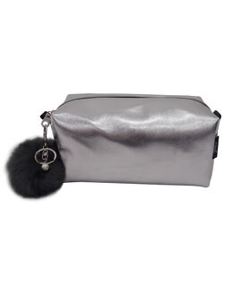 Toiletry Bag - Silver
