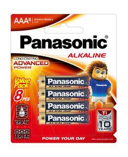 AAA Alkaline Battery 8pk