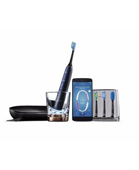 Sonicare DiamondClean Connected Luna Blue Premium Electric Toothbrush