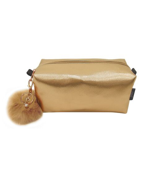 Toiletry Bag - Gold