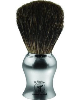 Shave Brush - Chrome