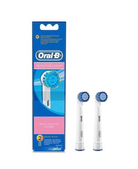 Sensitive 2 Pack Toothbrush Heads