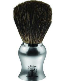 Shave Brush - Chrome