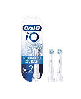 iO Ultimate Clean Replacement Brush Heads 2 Pack - White