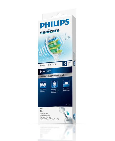 Intercare 3 Pack Toothbrush Heads