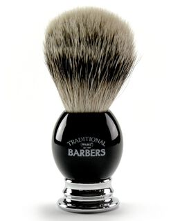 Premium Silver Tip Shaving Brush